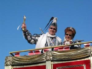 Prinz und Prinzessin Norbert und Anke.